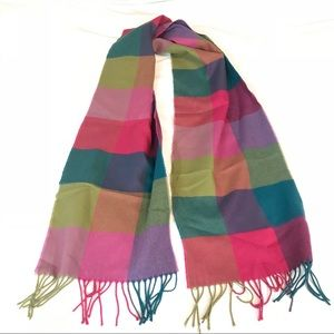 WOMENS COLORFUL CASHMERE SCARF